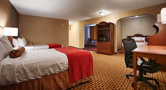 hotel in Vacaville CA - two queen bed